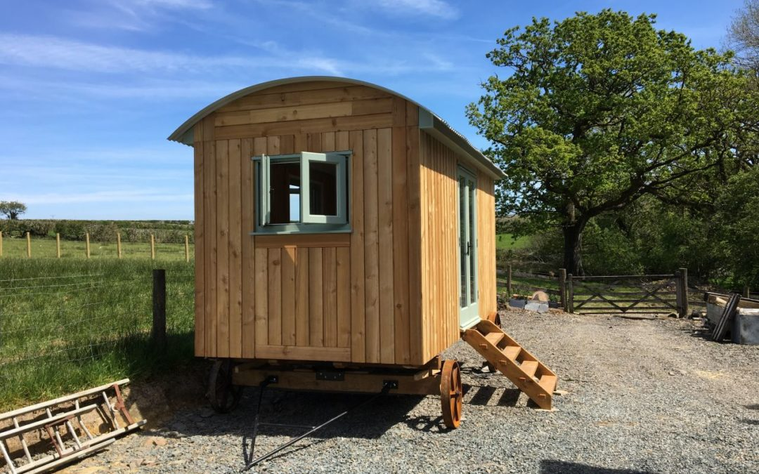 Great Testimonial For One of Our Bespoke Shepherds Huts